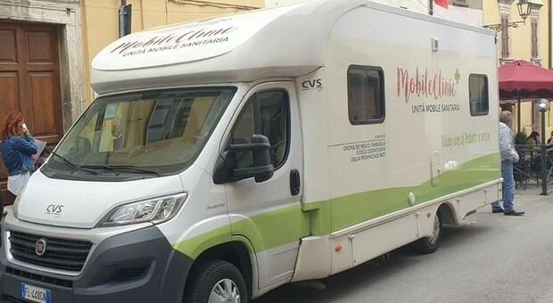 In Sabina una nuova tappa del tour vaccinale anti-Covid della Asl di Rieti
