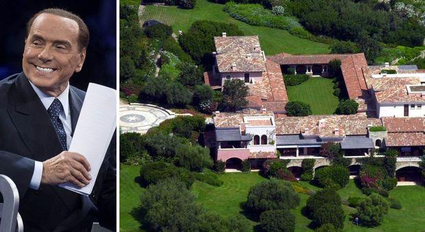 Interni Di Villa Certosa : Berlusconi amplia la certosa a porto rotondo via ai lavori nelle