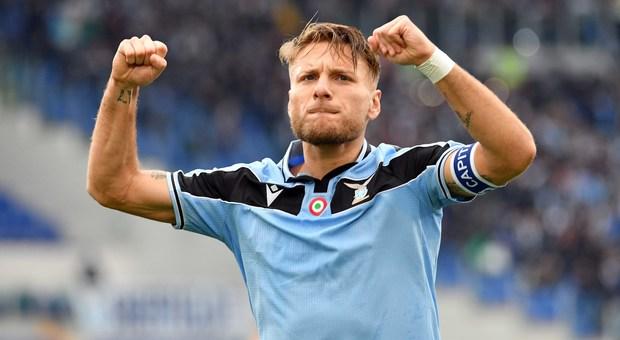 Lazio, Immobile il principe degli Azzurri che piace a tutti