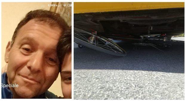 Ciclista travolto e ucciso dal Tir in via Tiburtina, fermato lo sciacallo che aveva prelevato con il bancomat della vittima