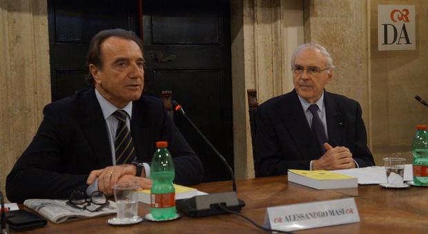 Alessandro Masi, Segretario Generale Società Dante Alighieri e il professore Domenico Fisichella