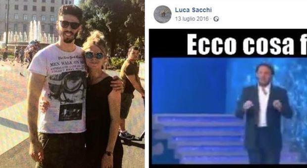 Luca Sacchi, l'incredibile post su Facebook: «Se il ladro ti spara, puoi guardarlo brutto»