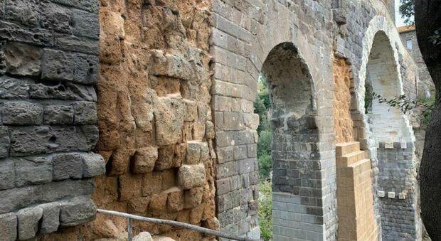 Ponte della Badia di Vulci: conclusa la terza fase di restauro, ma il cantiere non si ferma