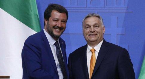 Salvini con i sovranisti Ue, altra mina per il governo