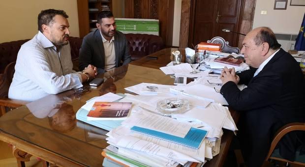 Cicchetti, Poulinakis e Marini (Foto Diociaiuti)