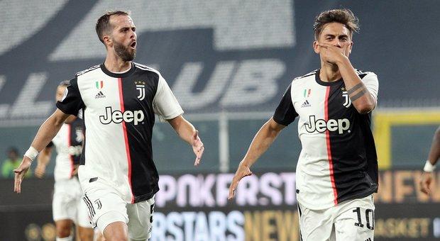 La Juve non si ferma, Genoa travolto 3-1 a Marassi
