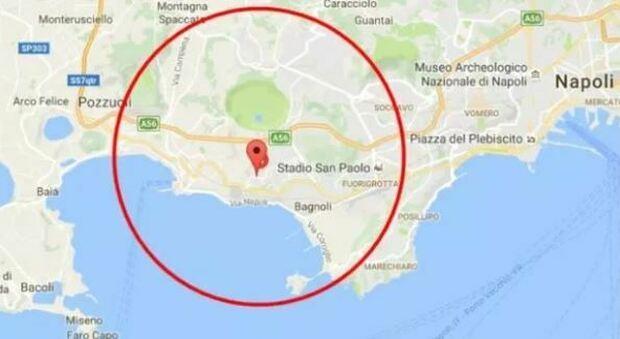 Terremoto a Pozzuoli di magnitudo 2.6, scossa avvertita anche nei comuni vicini