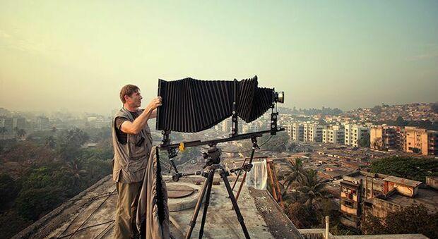 AlUla, mostra a cielo aperto a Roma con gli scatti di Robert Polidori. Foto di Lorenzo Martinengo (Martinengo Team)