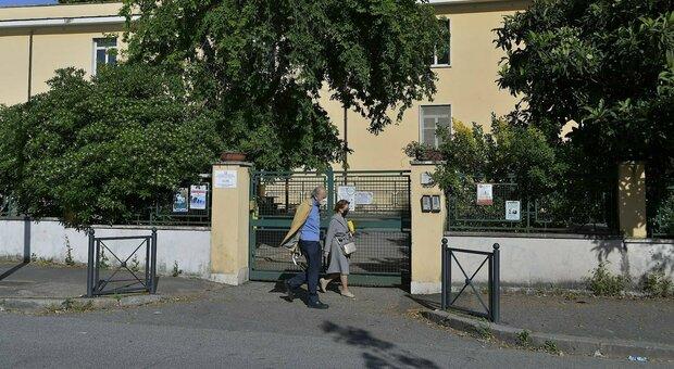 La scuola di via Giuseppe Cerbara teatro dell'aggressione