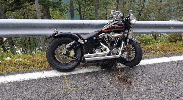Va a raduno delle Harley Davidson: si schianta e muore a 44 anni