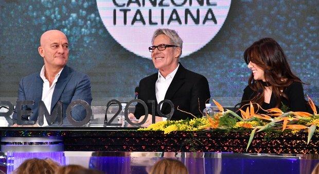 Sanremo 2019, Baglioni: «Non rifarei 24 artisti in gara». E Bisio confessa: «Ho invidiato Pio e Amedeo»