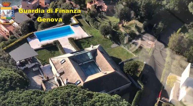 Genova, sequestrata super-villa affittata in nero: aveva ospitato anche i calciatori Suso e Pinilla