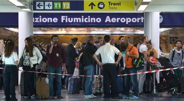 Sciopero aereo domani, l'elenco dei 113 voli Alitalia cancellati