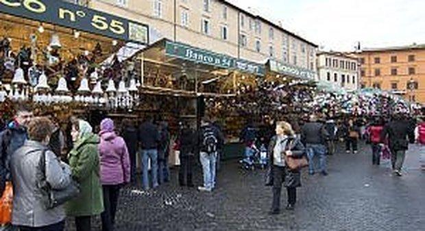 Piazza Navona, il Tar boccia le lobby: banchi assegnati in modo irregolare