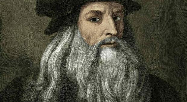 Un ritratto di Leonardo Da Vinci