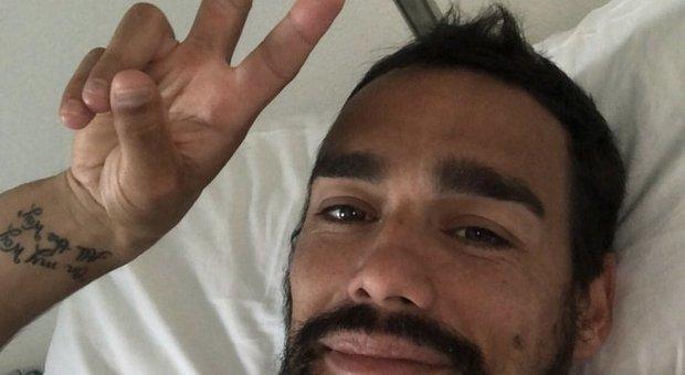 Fognini si è operato alle caviglie: «Spero di tornare presto»