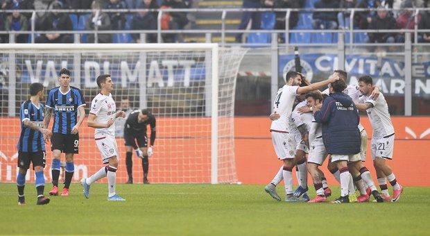 """Inter-Cagliari, i voti: Lautaro Martinez perde la testa, """"vendetta"""" Nainggolan"""