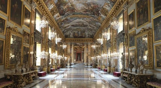 La Sala Grande di Galleria Colonna a Roma
