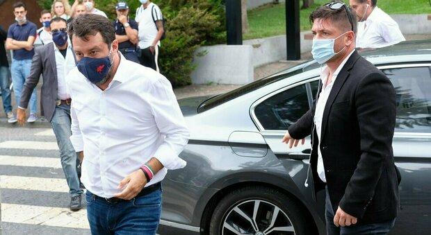 Matteo Salvini, Catania blindata e lui si allena con la Bongiorno per l udienza in tribunale