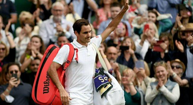 Federer, il ginocchio non va. Lo svizzero rinuncia alle Olimpiadi