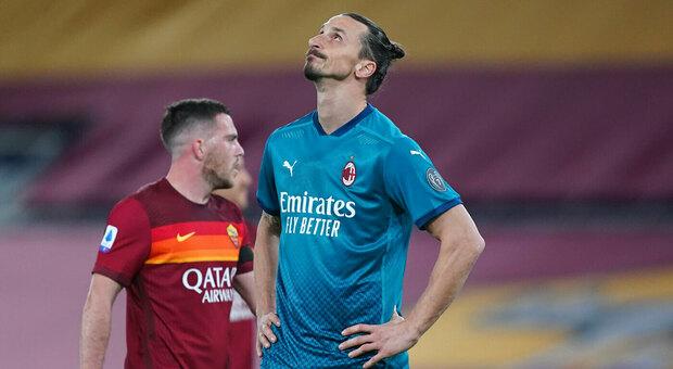 Milan, Ibrahimovic si ferma: rischia tre settimane di stop per una lesione all'adduttore sinistro