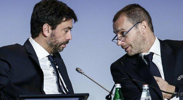 Ceferin attacca Agnelli sulla Superlega: «Non ho mai visto una persona mentire così tanto»