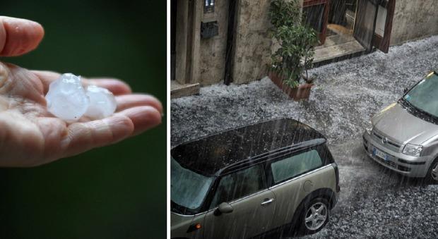 Roma, un altro nubifragio mette in ginocchio la capitale: sospesa Roma-Samp