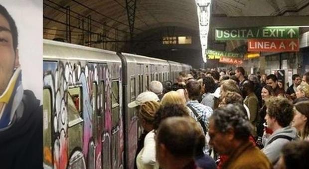 Roma stef no incidente sulla metro provocato dall - Apertura porta di roma ...