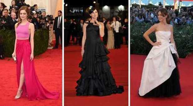 Emma Stone, Luisa Ranieri, Isabella Ragonese in look da red carpet