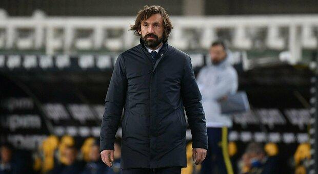 Juve, Pirlo: «Sapevo di cominciare un percorso difficile ma l'obiettivo resta lo scudetto»
