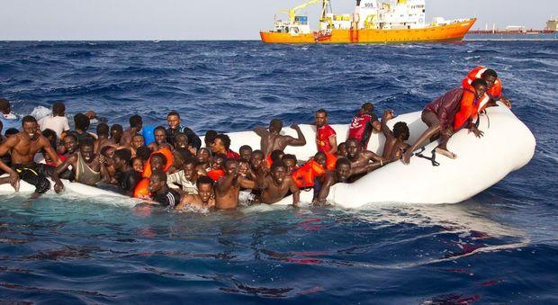 Un salvataggio in mare
