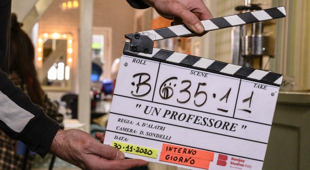 """Al via le riprese della nuove serie Rai1 """"Un professore"""": protagonisti Alessandro Gassmann e Claudia Pandolfi"""