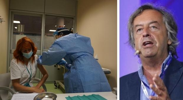 Burioni: «Se non ci vacciniamo tutti, di moda in Italia resteranno solo morti e disastro economico»
