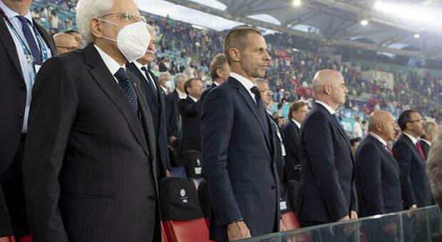 Euro 2020, sugli spalti di Wembley per la finale di domenica ci sarà il Presidente della Repubblica Sergio Mattarella