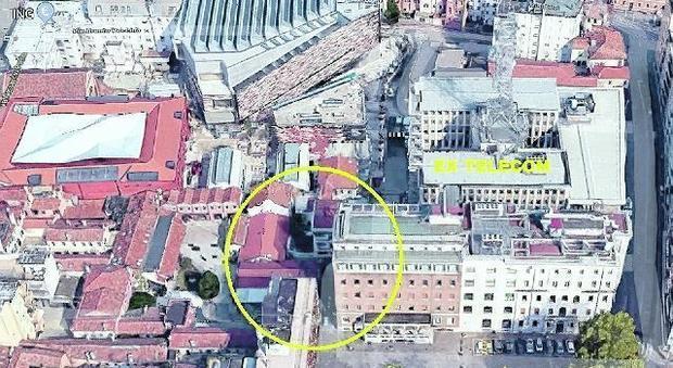 Mestre. L'ex palazzo della Tim verrà trasformato in un lussuoso hotel a cinque stelle