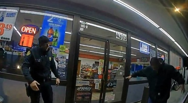 Polizia non armato