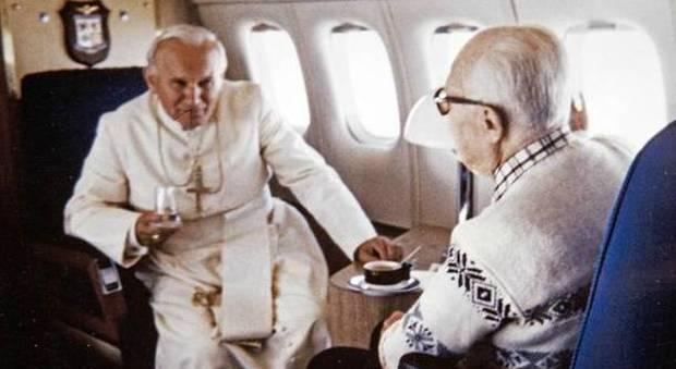 Aperte le visite all'aereo Dc-9 sul quale viaggiarono il presidente Pertini e Papa Wojtyla