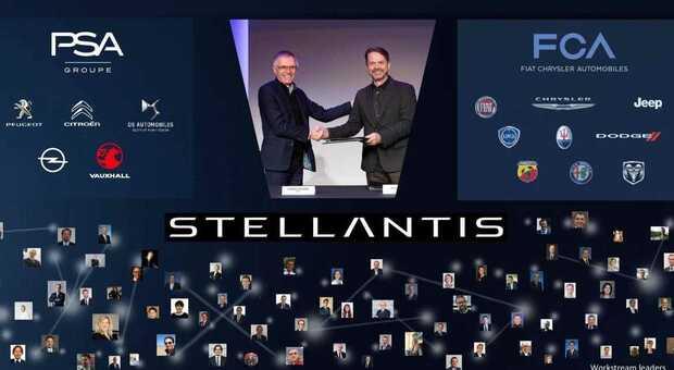 Dalla fusione Fca-Psa nascera Stellantis