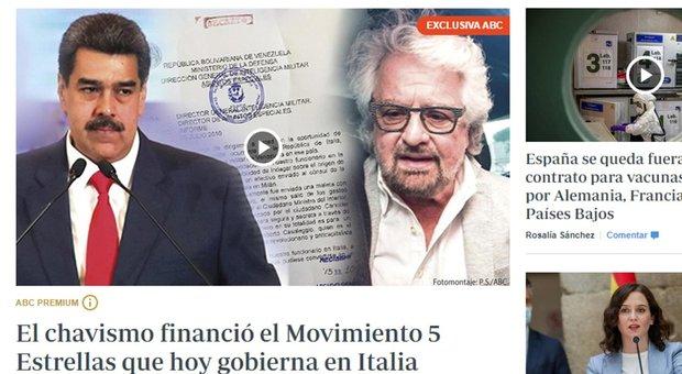 M5S, presunti finanziamenti da Maduro. L'ambasciata del Venezuela: «Falso, adiremo le vie legali»
