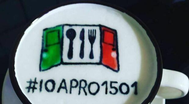 """""""#ioapro"""", la disobbedienza civile di bar e ristoranti si organizza sui social"""