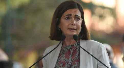 Laura Boldrini, in tribunale a Savona: «Che ne pensa Salvini del sindaco che mi augurò lo stupro?»