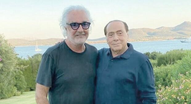 Berlusconi positivo al Coronavirus, i forzisti contro Briatore: «E' stato lui a contagiarlo»