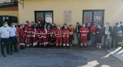 Montecastrilli e Avigliano Umbro rendono onore alle Croce Rossa.