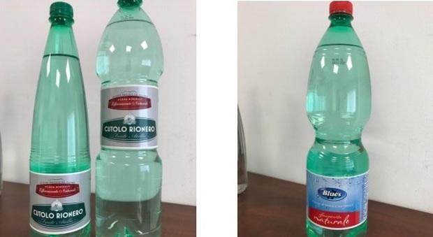 Acqua in bottiglia, richiamati otto lotti della Fonte Cutolo Rionero: rischio contaminazione