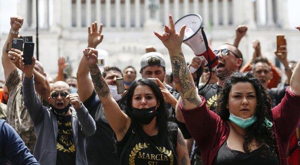 Manifestazione a Roma, 70 denunciati: alcuni provenivano da fuori regione