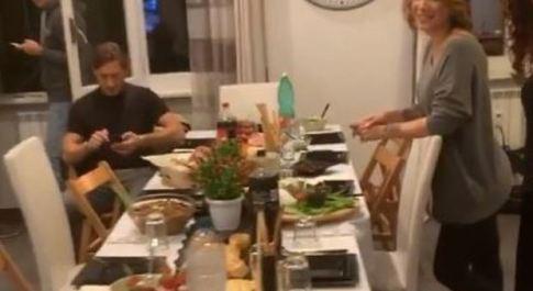 Francesco Totti e Ilary Blasi, su Instagram il sabato sera che non ti aspetti