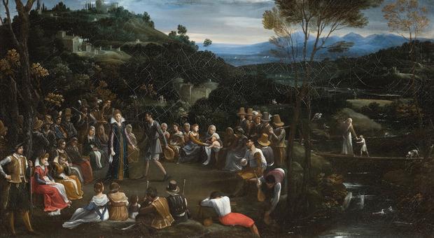 La Galleria Borghese di Roma acquisisce la Danza campestre : il dipinto è di Guido Reni e non di artista ignoto