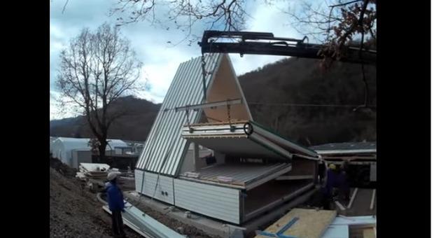 immagine Ecco la casa pieghevole made in Italy, si monta in sei ore (e costa 28 mila euro)