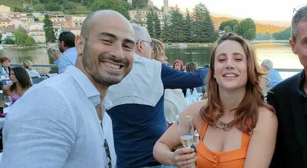 Alessio Foconi con la fidanzata Maria Vittoria
