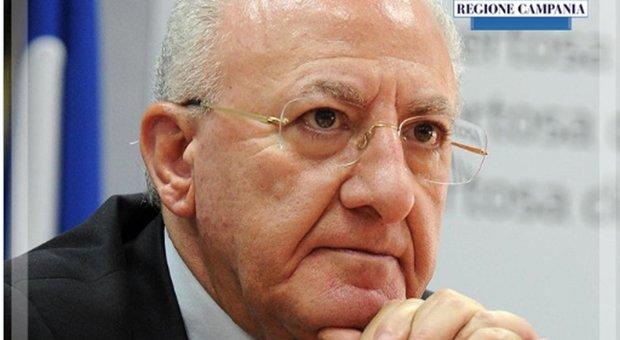 De Luca: «Non si comprende apertura generalizzata». In Campania nessun morto e 15 guariti